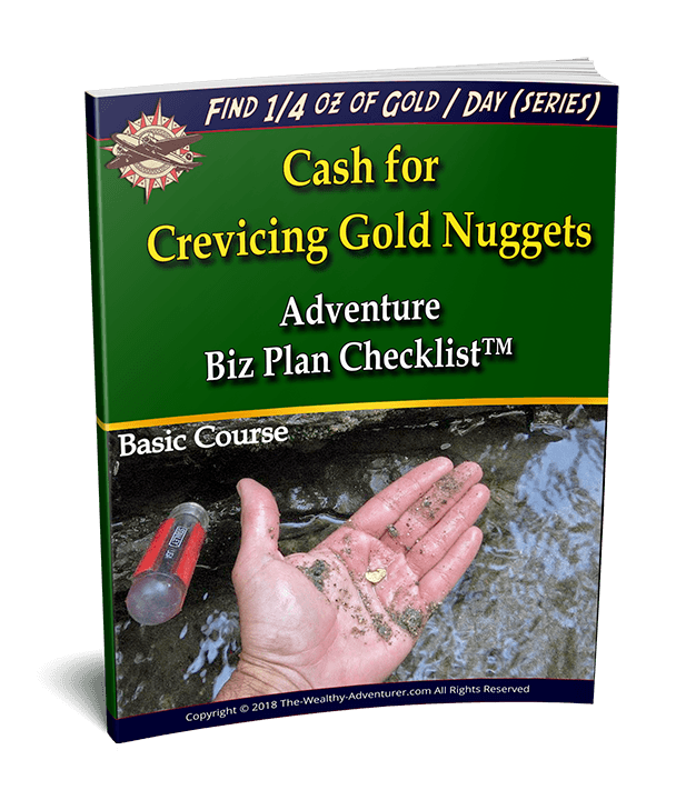Cash for Crevicing Gold Nuggets