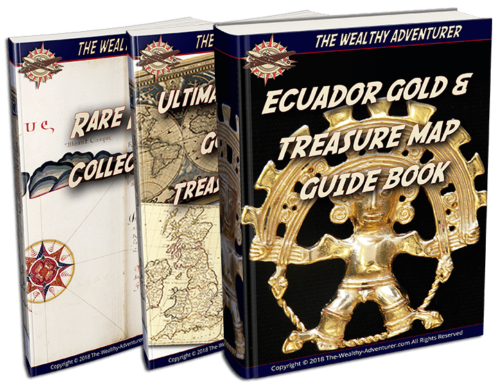 Ecuador Gold and Treasure Map