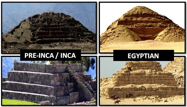 ANCIENT EGYPTIANS AND INCAS