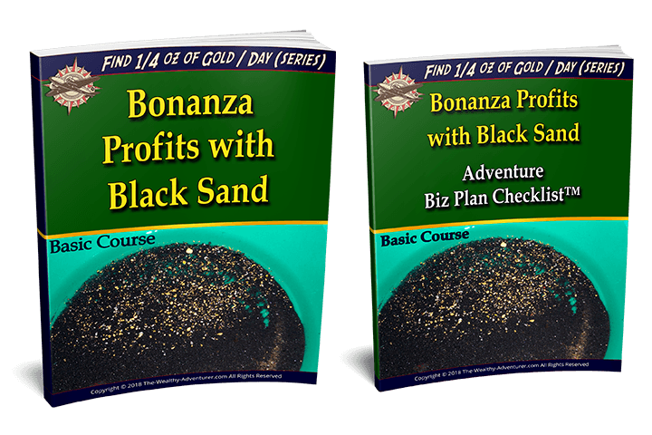 Bonanza Profits from Black Sand