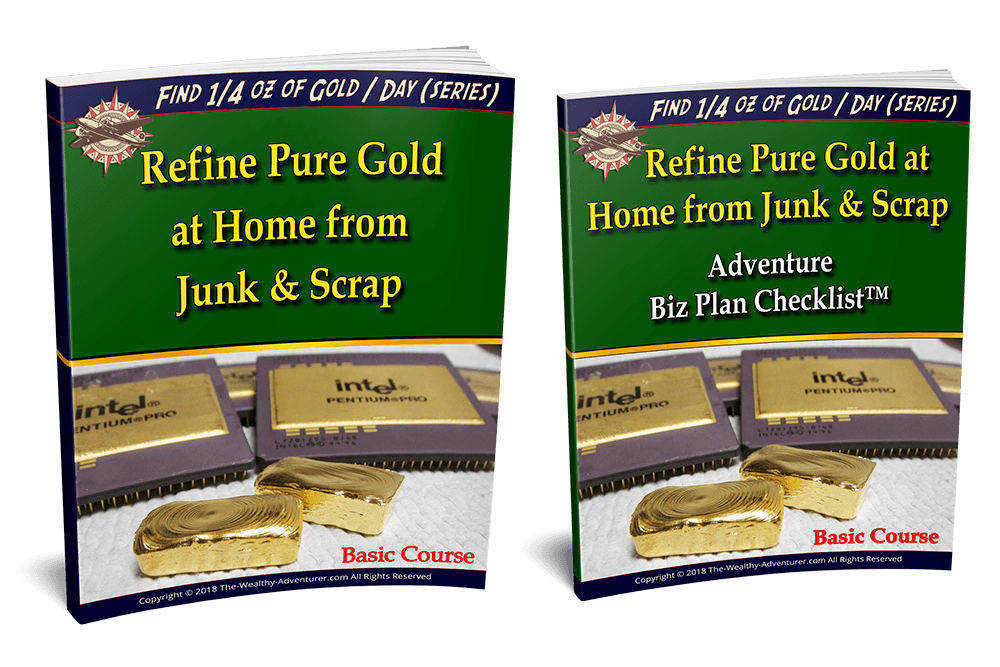 Refine Pure Gold at Home from Junk & Scrap