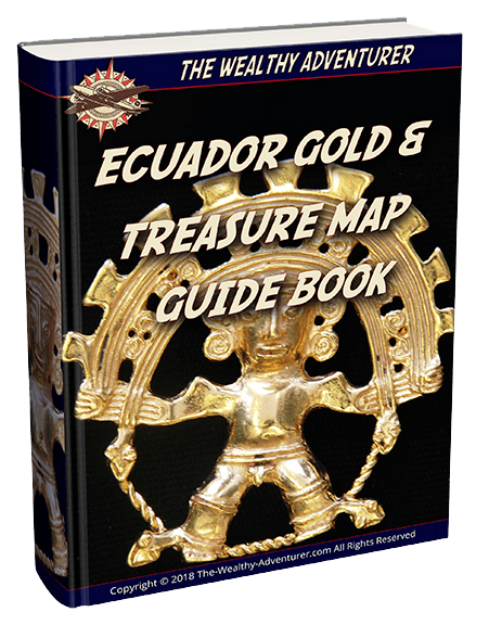 Ecuador Gold &Treasure Map