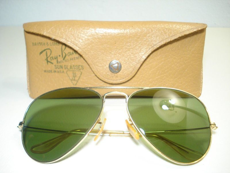 rayban glasses and case