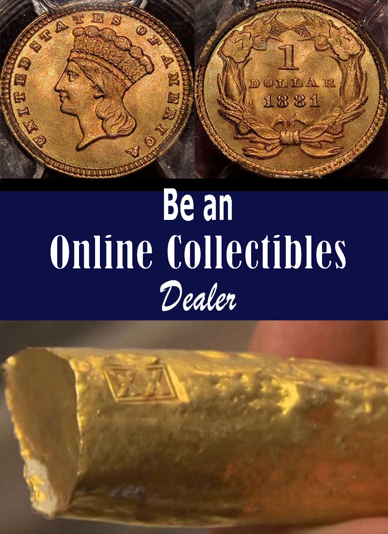 Be an Online Collectibles Dealer