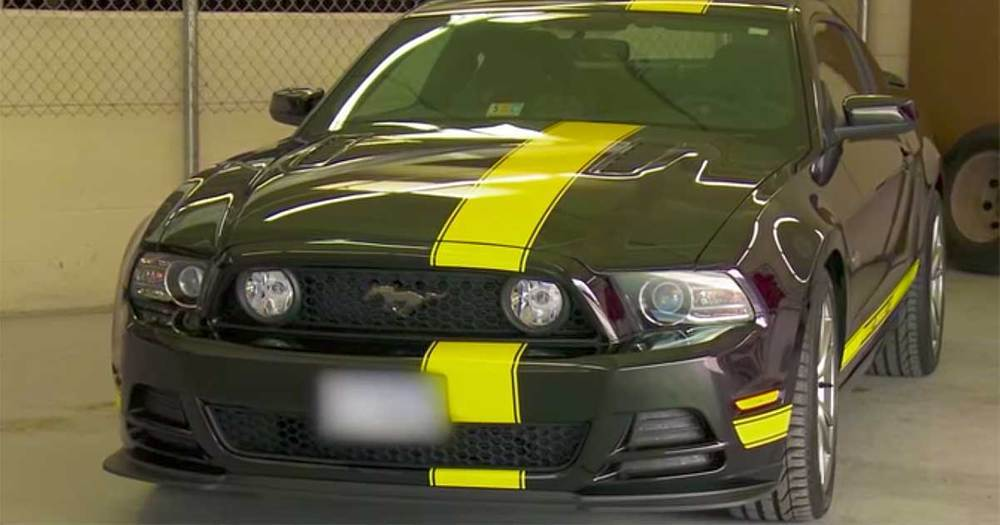 2014 Hertz Penske GT Mustang