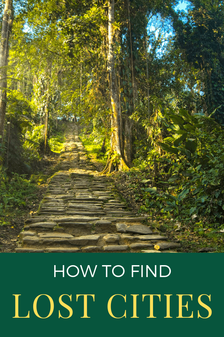 How to Find Lost Cities