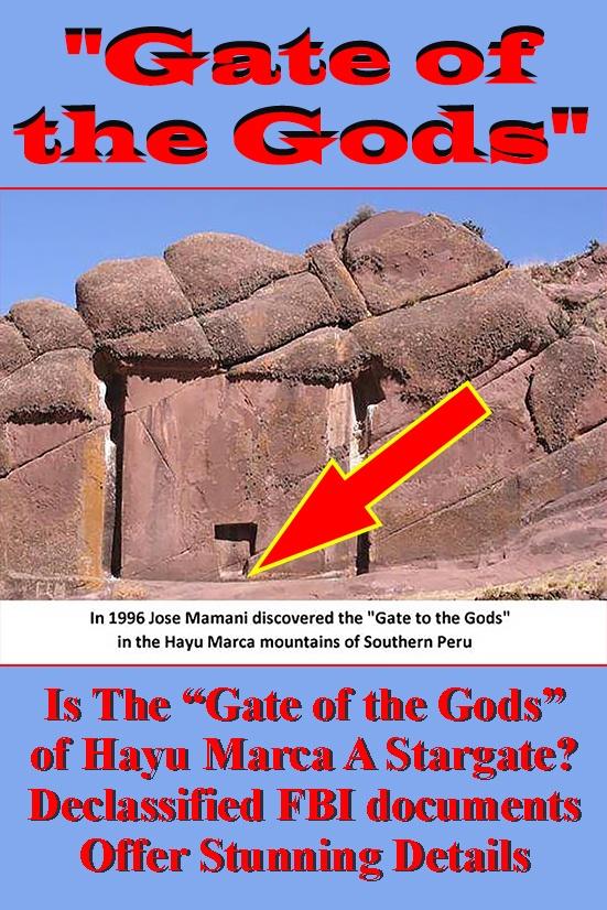 Stargate Peru ancient code the gate of the gods