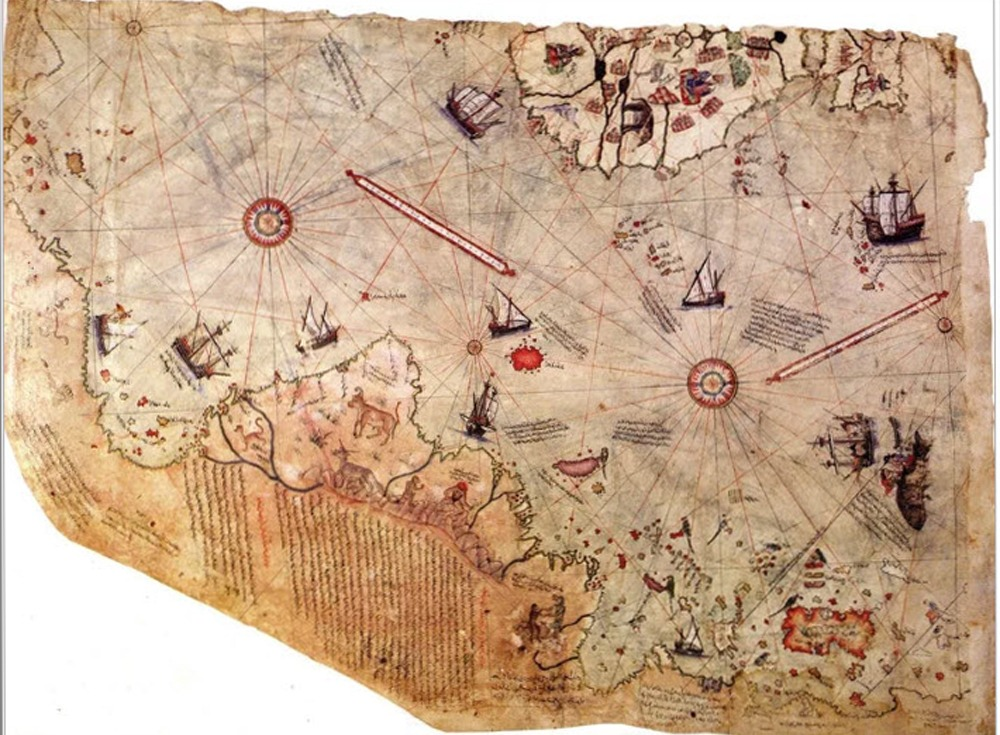 The piri reis map was created by extraterrestrials