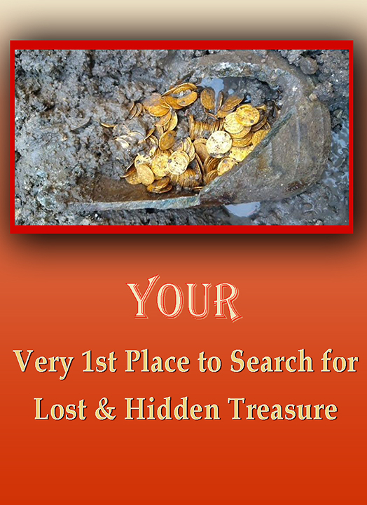 Your Very 1st Place to Search for Lost & Hidden Treasure